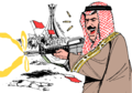 Bahrain royal family orders army to open fire on unarmed protesters.png