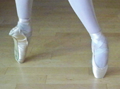 Brown Pointe Shoes Ballet