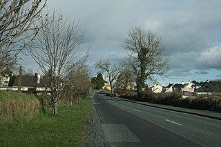 Ballinalee Village in Leinster, Ireland