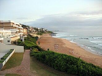 Ballito - Image: Ballito South Africa beach view 1