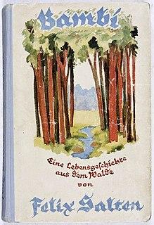 <i>Bambi, a Life in the Woods</i> novel by Felix Salten