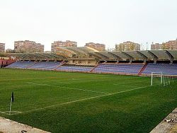 Banants stadium, main stand.jpg