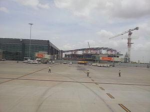 Kempegowda International Airport - Phase 1 expansion underway in June 2012