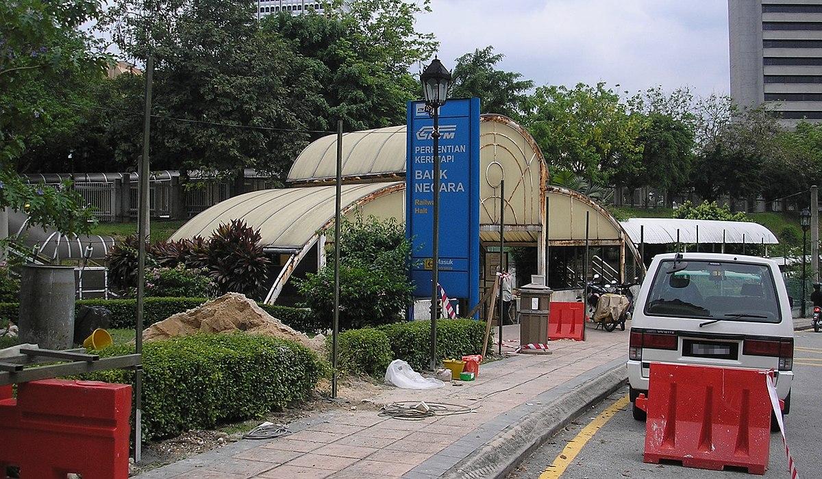 Ktm Wikipedia >> Bank Negara Komuter station - Wikipedia