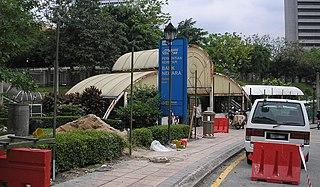 Bank Negara Komuter station