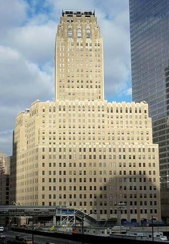 Ralph Thomas Walker - The Barclay-Vesey Telephone Building, also known as the Verizon Building