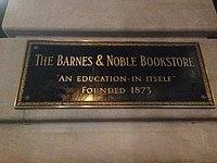 Barnes Noble Wikipedia