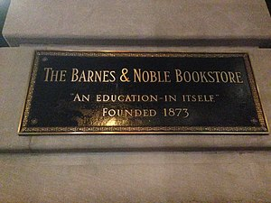 Barnes & Noble - 5th Avenue store sign