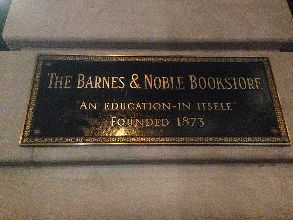 Barnes %26 Noble sign