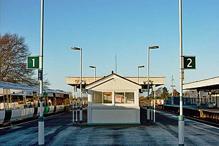 Barnham railway station
