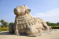 Basavannah statue at Lepakshi.JPG