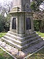 Base of the Walhampton Monument, east of Lymington - geograph.org.uk - 42645.jpg