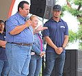 Baseball Royals Alfredo Escalera with Cidras City Mayor in Charity Event.jpg