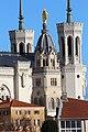 Basilique Notre-Dame Fourvière façade sud Lyon 9.jpg