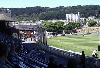 Mount Victoria, Wellington - Basin Reserve and Mount Victoria