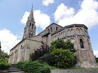 Bassens (Gironde) église Saint-Pierre, chevet PA00083126.JPG