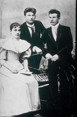 Bata Shoes - Tomáš, Antonín and their sister Anna Baťa