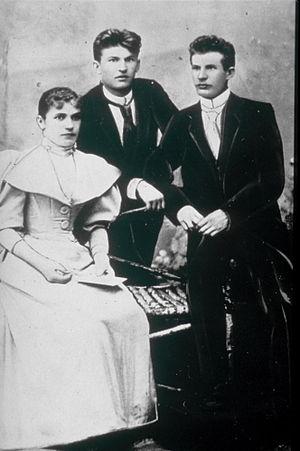 Bata Shoes - Tomáš, Antonín and their sister Anna Baťa