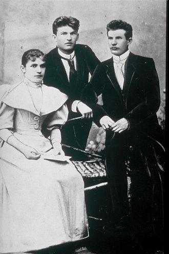 Bata (company) - Tomáš, Antonín and Anna Baťa