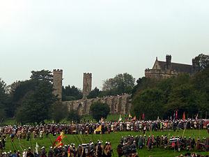 Reenactment of the Battle of Hastings