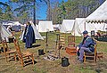 Battle of Guiliford Courthouse 1781 reenactment 06.jpg