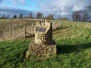 Battle of Stow-on-the-Wold - Battle viewpoint