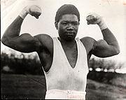 Le boxeur Battling Siki