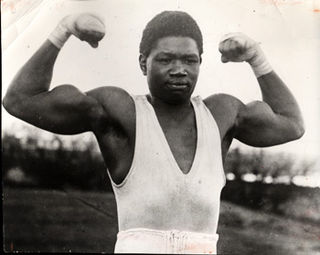 Battling Siki Senegalese boxer