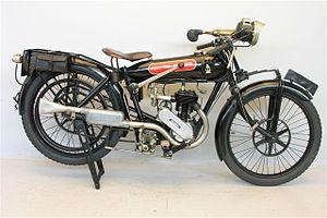 Frank E. Baker Motorcycles Ltd - Beardmore Precision 350 cc 1923