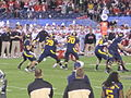 Bears on offense at 2009 Poinsettia Bowl 12.JPG