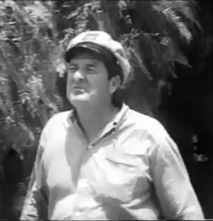 Coleman Francis - Coleman Francis in a cameo in his film The Beast of Yucca Flats