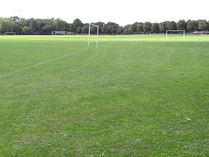 Beckton District Park South - Football pitches