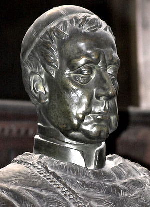 Cardinal Friedrich Schwarzenberg - Portrait at St. Vitus Cathedral, Prague.