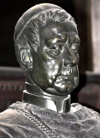 Friedrich Prince zu Schwarzenberg - Portrait at St. Vitus Cathedral, Prague.