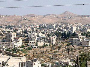 Beit Sahour - View of Beit Sahour