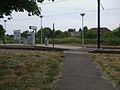 Belgrave Walk tramstop western entrance.JPG