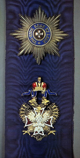 Order of the White Eagle (Russian Empire) - Image: Bely orel order