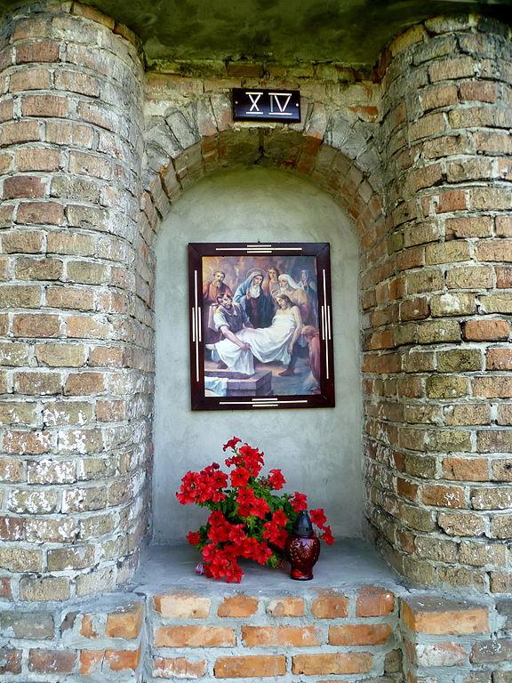 ікона в каплиці у м.Белз, Львівщина
