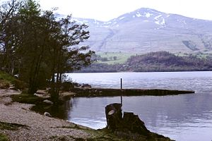 Ben Lawers - Image: Ben Lawers from Loch Tay