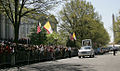 Benedictus XVI outside US Treasury 2008.jpg