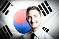 Benjamin Boulter with Korean Flag.jpg