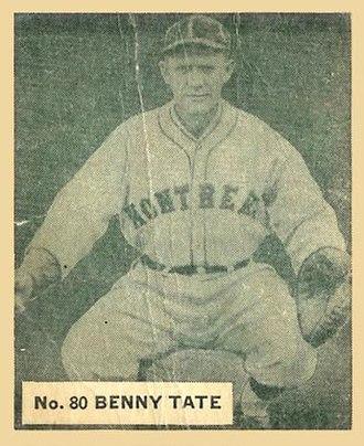 Bennie Tate - Image: Benny Tate
