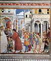 Benozzo Gozzoli - The School of Tagaste (scene 1, north wall) - WGA10285.jpg