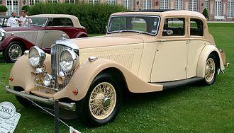 Bentley 3.5 Litre - 4¼-litre 4-door sports saloon 1936