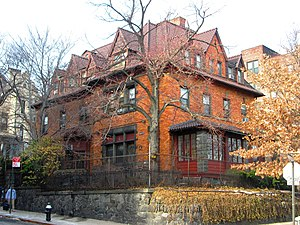 Sugar Hill, Manhattan - Image: Benziger House 345 Edgecombe Avenue from south