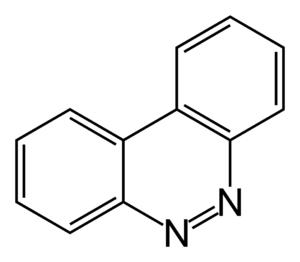 Benzo(c)cinnoline - Image: Benzo c cinnoline