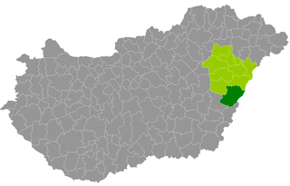 Berettyóújfalu District Districts of Hungary in Hajdú-Bihar