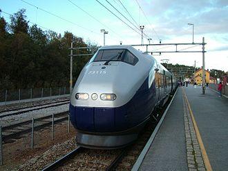 Geilo - Bergensbanen at Geilo Train Station