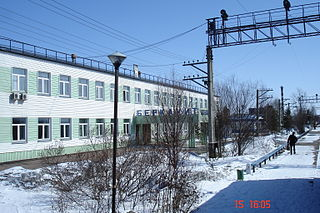 Berkakit Urban-type settlement in Sakha Republic, Russia