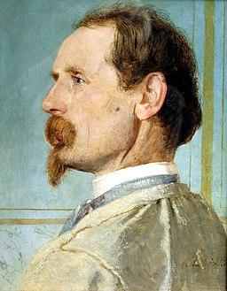 Berlin, Alte Nationalgalerie, Arnold Böcklin, der Bildhauer Josef von Kopf
